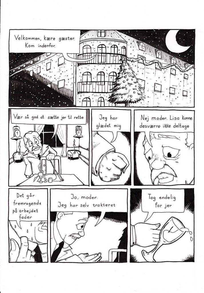 Tegneserie Københavns Kunstskole Stregfabrikken